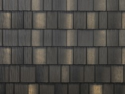 sample image of Arrowline Shake style metal roof in Statuary-Bronze-Blend-2 from Metal Roof Outlet