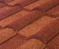 Barrel Vault Stone Coated Metal Tile Roof - Santa Fe